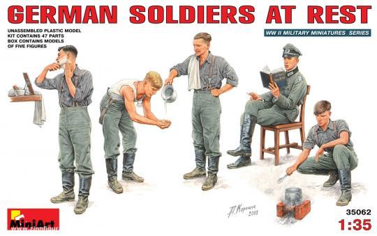 Rastende Soldaten /Lager