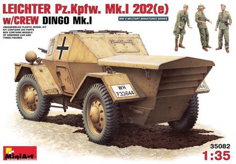 Leichter PzKpfW. Mk.I 202(e) DAK