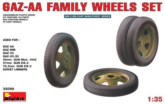 Räder-Set für die Gaz-AA Reihe
