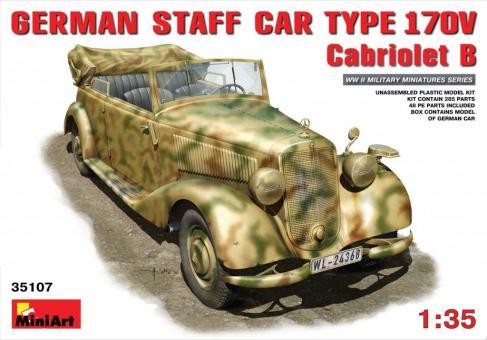 Stabswagen 170V Cabrio