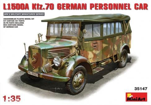 L1500A Kfz.70 Deutscher Truppentransporter