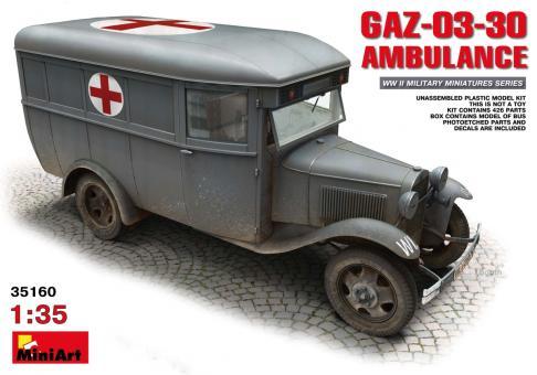 GAZ-03-30 Ambulanz