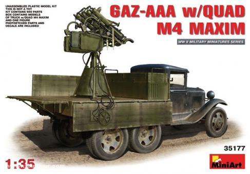 GAZ-AAA mit M-4 Maxim Vierling