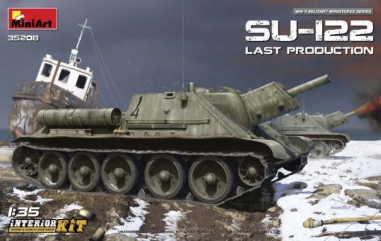 Su-122 letzte Produktion