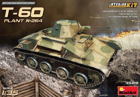 T-60 - Fabrik 264 Stalingrad