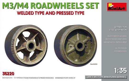M3/M4 Räder - Geschweisste und Geschmiedete Varianten