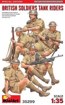 Britische Soldaten - Panzeraufsitzer - Special Edition