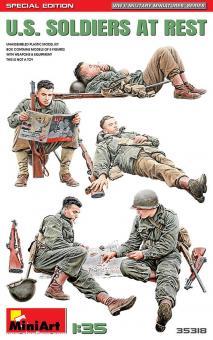 US Soldaten - rastend - Special Edition