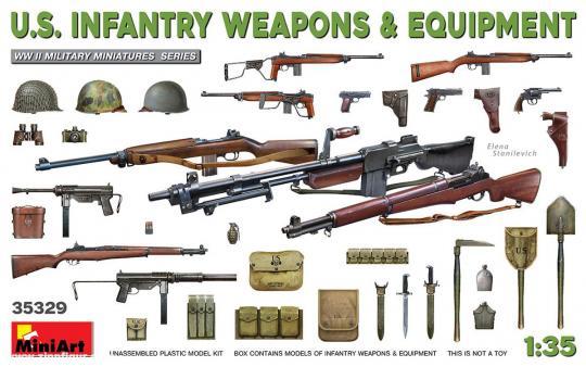 US Infanteriewaffen & Ausrüstung