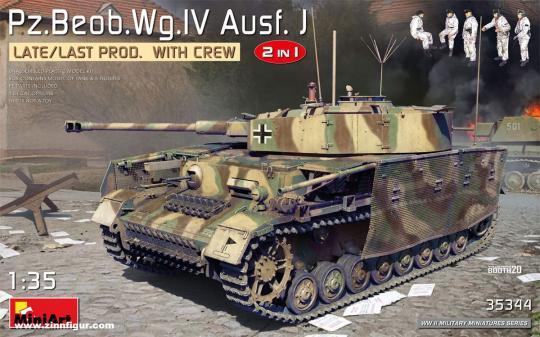 Pz.Beob.Wg.IV Ausf.J späte/letzte Produktion mit Besatzung