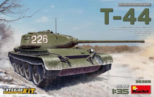 T-44 mit Innendetails