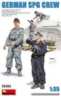 Deutsche Sturmgeschütz-Besatzung
