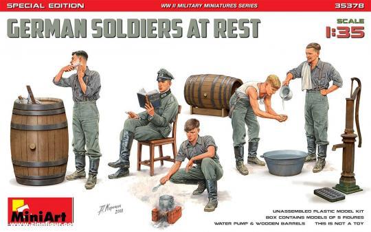 Rastende deutsche Soldaten - Special Edition