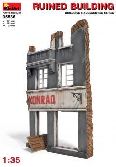 Hausfassade, Ruine
