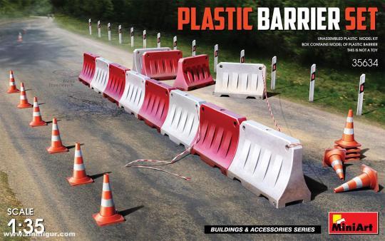 Plastik Absperrungen