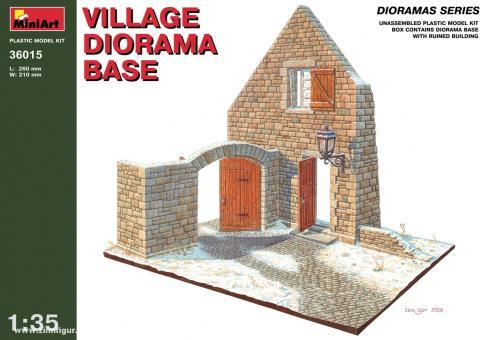 Dorf Dioramabasis