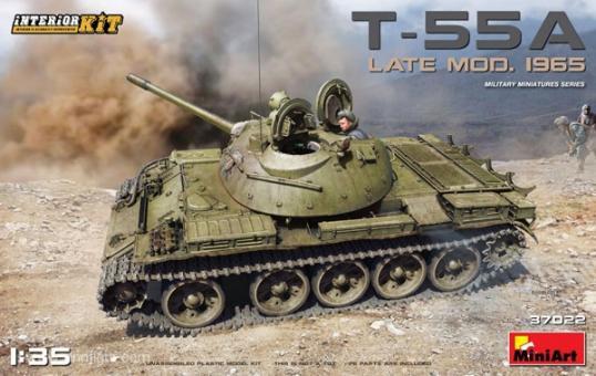 T-55A Spät Mod. 1965 - mit Innendetails