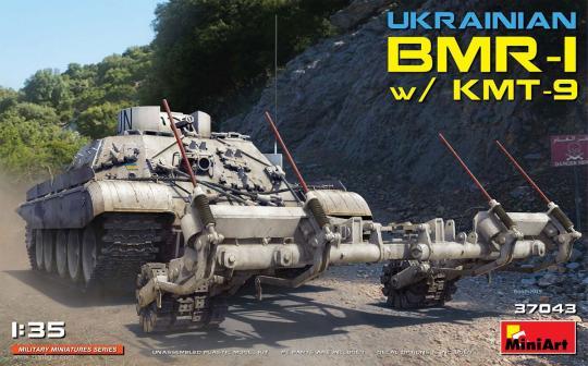 Ukrainischer BMR-1 mit KMT-9