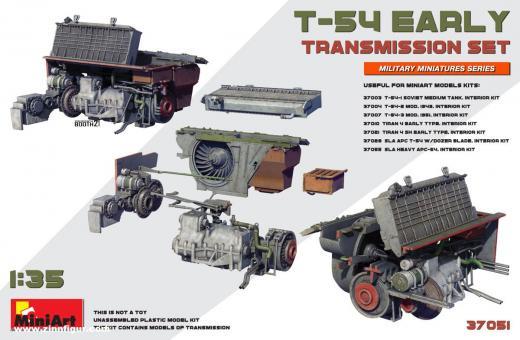 T-54 früh Getriebeset