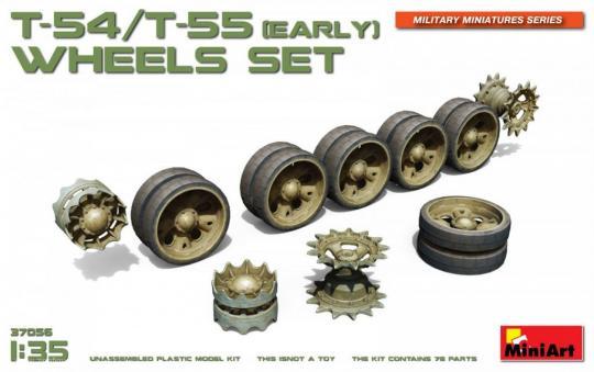 T-54/T-55 (früh) Räder Set
