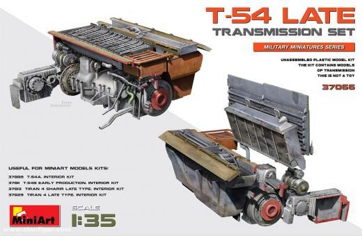 T-54 spät Getriebe-Set