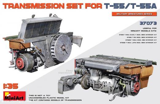 T-55/T-55A Getriebe-Set