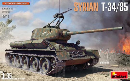 Syrischer T-34/85