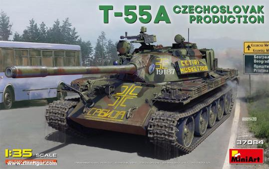 T-55A Tschechoslowakische Produktion