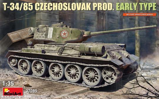 T-34/85 Tschechoslowakische Produktion - Früher Typ