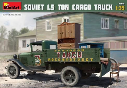 Sowjetischer 1,5 t Lkw