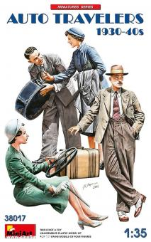 Auto-Reisende - 1930er-40er Jahre