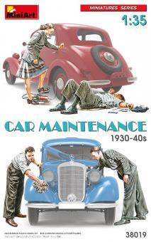 Automechaniker - 1930er-40er Jahre