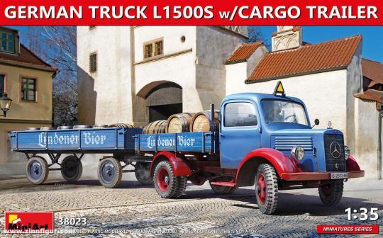 Lkw L1500S mit Anhänger
