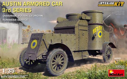 """Austin Panzerwagen 3. Serie """"Ukraine/Polen/Georgien/Rumänien"""""""