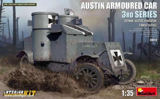 """Austin Panzerwagen 3. Serie """"Deutschland/Österreich/Finnland"""""""