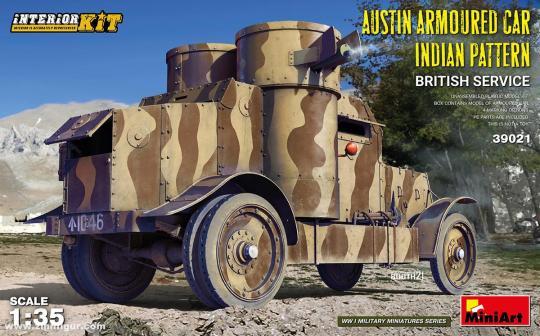 Austin Panzerwagen Indian Pattern