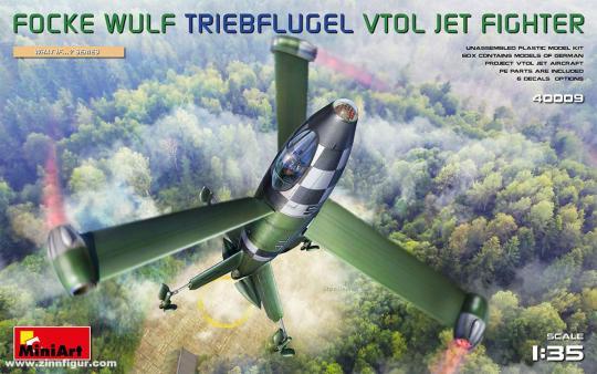Focke Wulf Triebflügel VTOL Düsenjäger