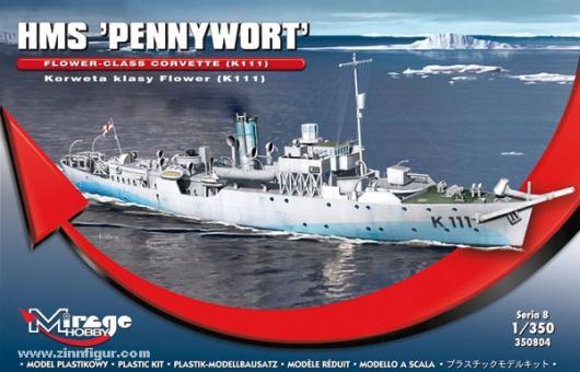 HMS Pennyworth K111 Flower Class Korvette