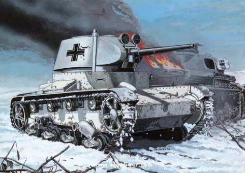 Deutscher Beutepanzer T-26 1937