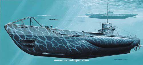 Deutsches U-Boot U 570 Typ VII C