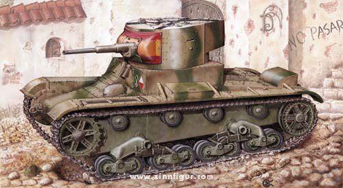 Leichter Panzer T-26 1933
