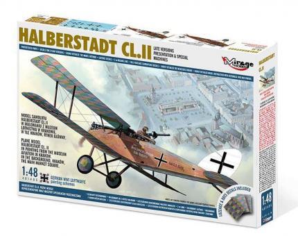 "Halberstadt CL.II späte Versionen ""Präsentationen & Specials"""