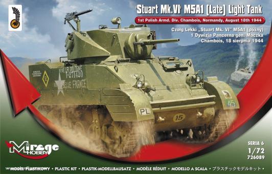 Stuart Mk.VI M5A1 (spät) Leichter Panzer