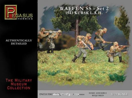 Waffen-SS 1943 WW2 German Figures Set 2