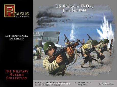 WW2 US Rangers D-Day