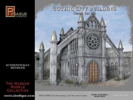 Gotisches Stadtgebäude - Set 2