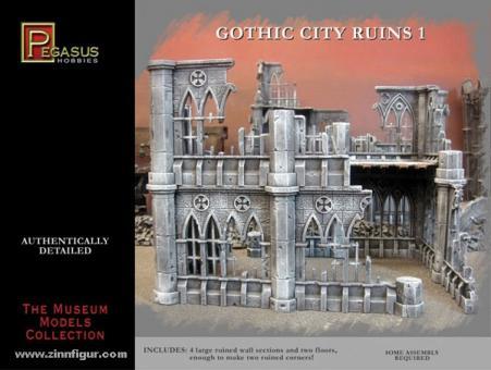 Gotische Stadtruinen