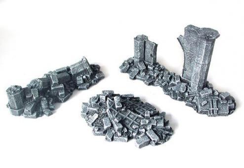 Gotischer Ruinenschutt II