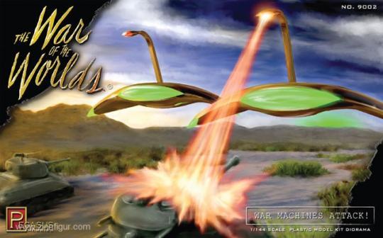 Martian War Machines Diorama Set