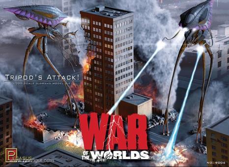 Angriff der Tripoden - Krieg der Welten - Dioramenset